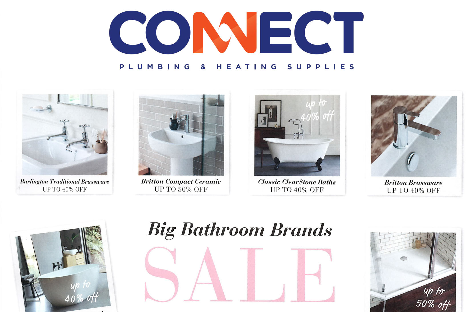 Big bathroom brands sale connect plumbing and heating